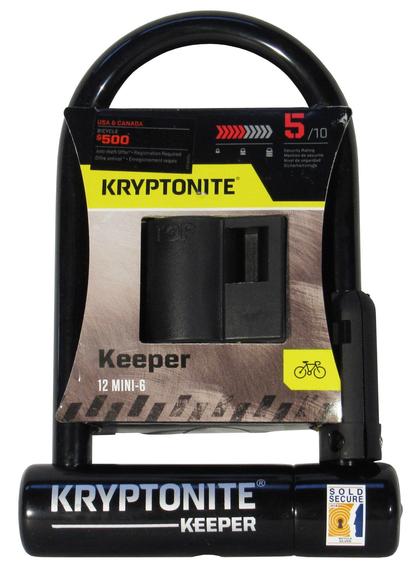 Kryptonite Keeper Mini 6 U-Lock