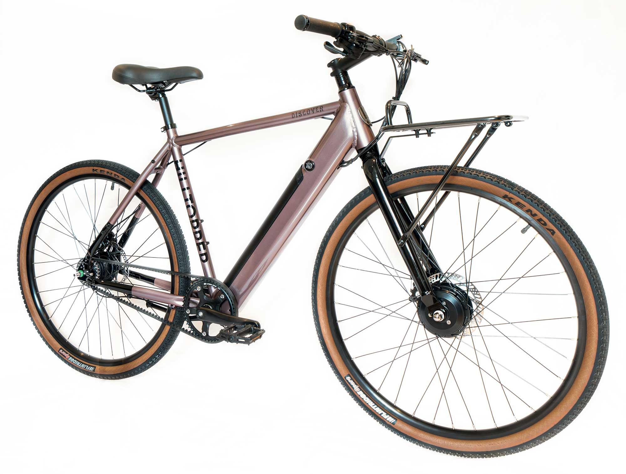 Hilltopper Discover LE Electric Gravel Road Bike